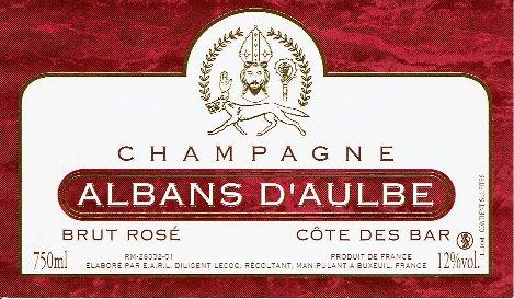 rosé etiquette